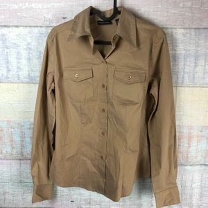 New York & Company Stretch Fitted Blouse P4